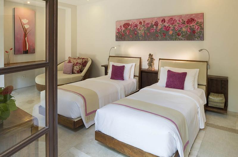 Twin Bedroom - Lataliana Villa One - Seminyak, Bali