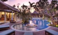 Pool at Night - Lataliana Villa One - Seminyak, Bali