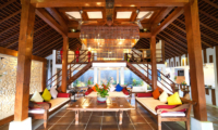 Living Area with Up Stairs - La Villa Des Sens Bali - Kerobokan, Bali