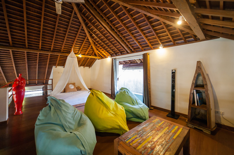 Bedroom with Wooden Floor - La Villa Des Sens Bali - Kerobokan, Bali