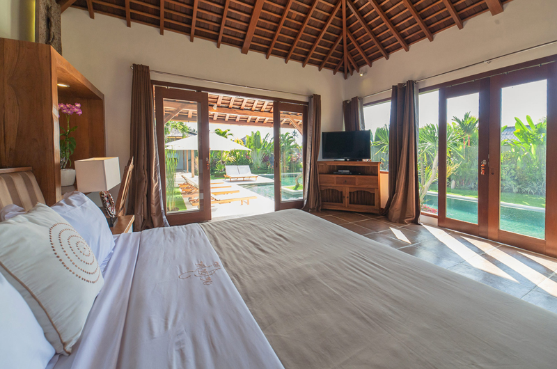 King Size Bed with TV - La Villa Des Sens Bali - Kerobokan, Bali