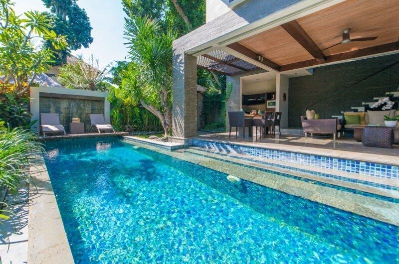 Pool Side - Le Jardin Villas - Seminyak, Bali