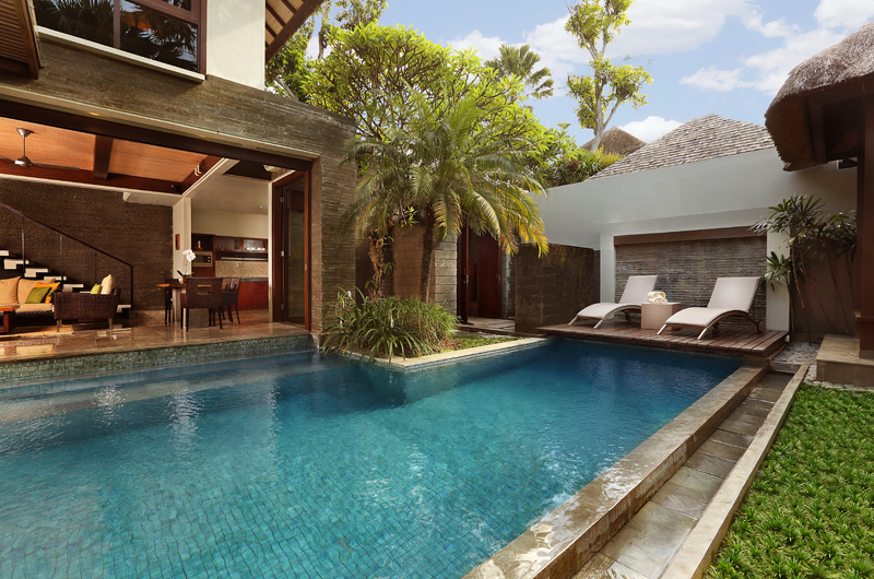 Gardens and Pool - Le Jardin Villas - Seminyak, Bali