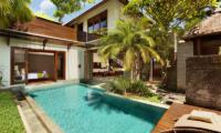 Pool Side Bedroom - Le Jardin Villas - Seminyak, Bali