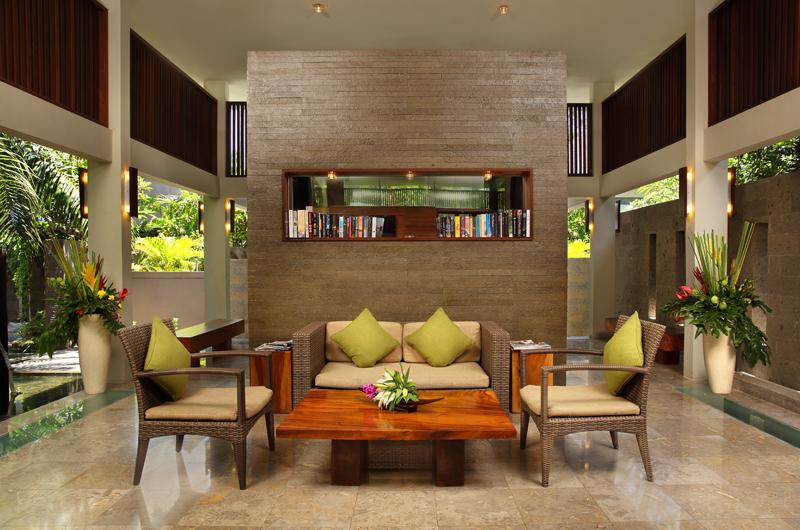 Living Area - Le Jardin Villas - Seminyak, Bali