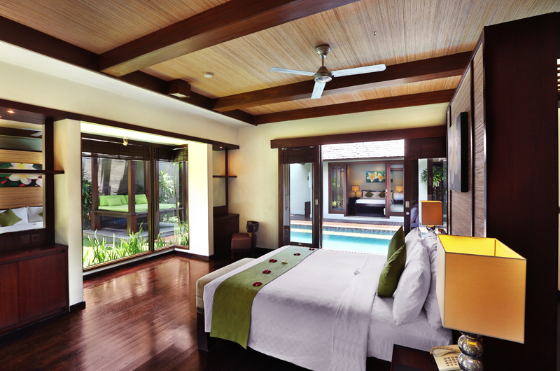 Bedroom with Pool View - Le Jardin Villas - Seminyak, Bali
