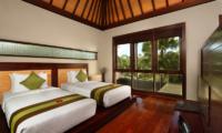 Twin Bedroom - Le Jardin Villas - Seminyak, Bali