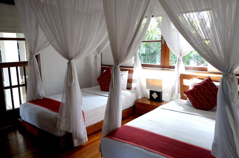 Twin Bedroom - The Lotus Residence - Tabanan, Bali