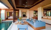 Living Area - Maca Villas - Seminyak, Bali