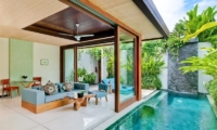 Lounge Area - Maca Villas - Seminyak, Bali