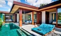 Reclining Sun Loungers - Maca Villas - Seminyak, Bali