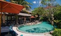 Gardens and Pool - Maca Villas - Seminyak, Bali