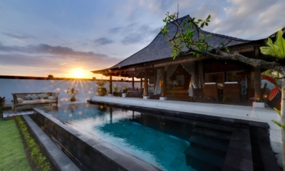 Pool with Sun Set View - Majapahit Beach Villas - Sanur, Bali
