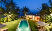 Top View at Night - Majapahit Beach Villas - Sanur, Bali