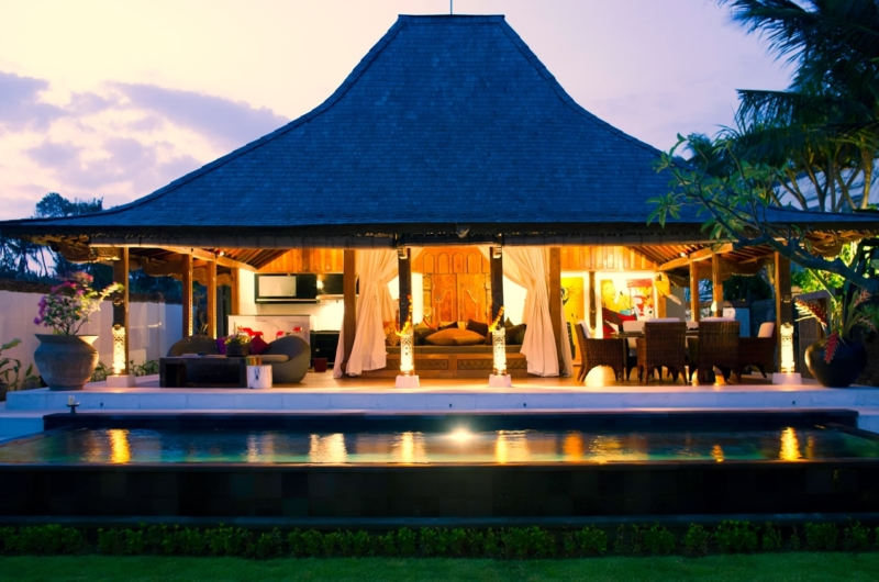 Night View - Majapahit Beach Villas - Sanur, Bali
