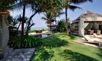 Statue at Garden - Majapahit Beach Villas - Sanur, Bali