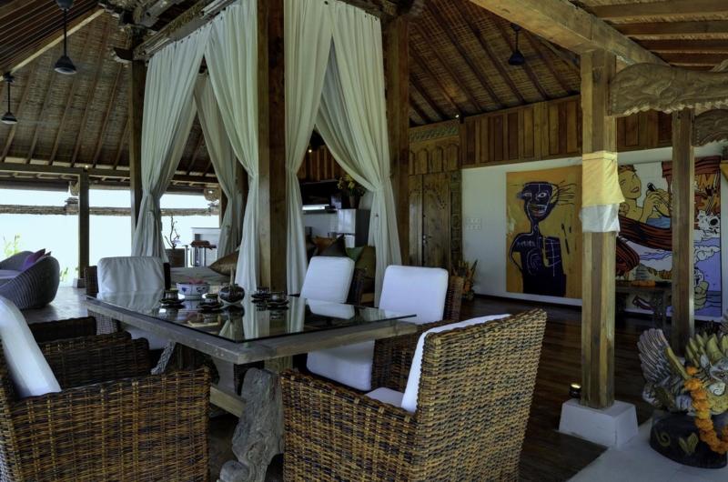 Indoor Dining Area - Majapahit Beach Villas - Sanur, Bali