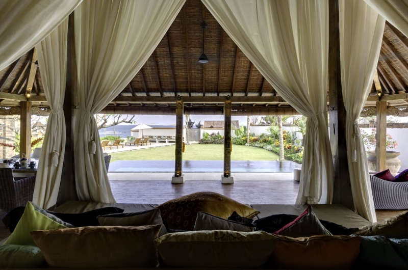 Living Area with Pool View - Majapahit Beach Villas - Sanur, Bali