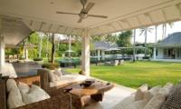 Gardens and Pool - Matahari Villa - Seseh, Bali