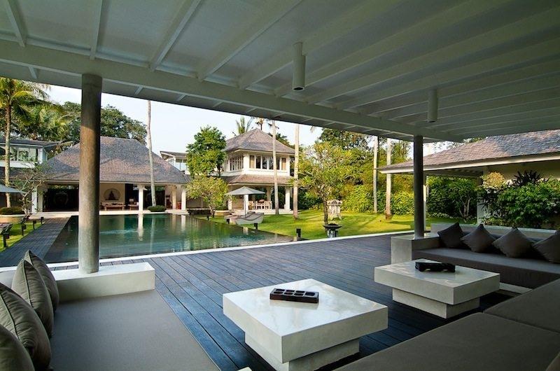 Pool Side Seating Area - Matahari Villa - Seseh, Bali