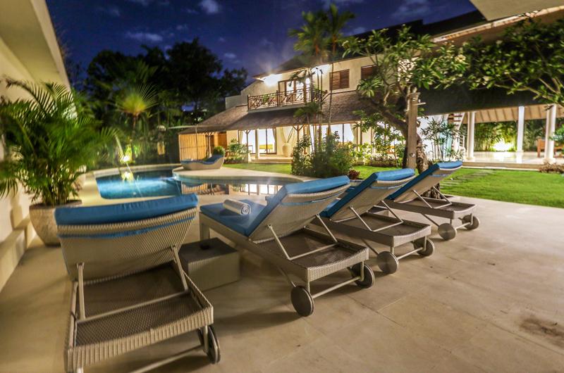 Sun Loungers - Miu Villa - Seminyak, Bali