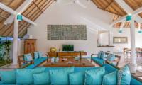 Lounge Area with TV - Miu Villa - Seminyak, Bali
