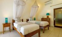 Twin Bedroom - Miu Villa - Seminyak, Bali