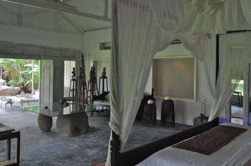 Spacious Bedroom with View - Morabito Art Villa - Canggu, Bali