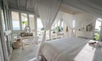 Bedroom with Side Table - Morabito Art Villa - Canggu, Bali