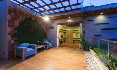 Open Plan Seating Area - Nazeki Villa - Uluwatu, Bali