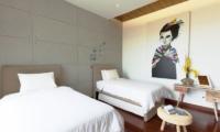 Twin Bedroom - Nazeki Villa - Uluwatu, Bali