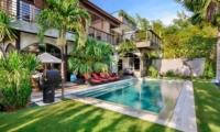 Gardens and Pool - Niconico Mansion - Seminyak, Bali