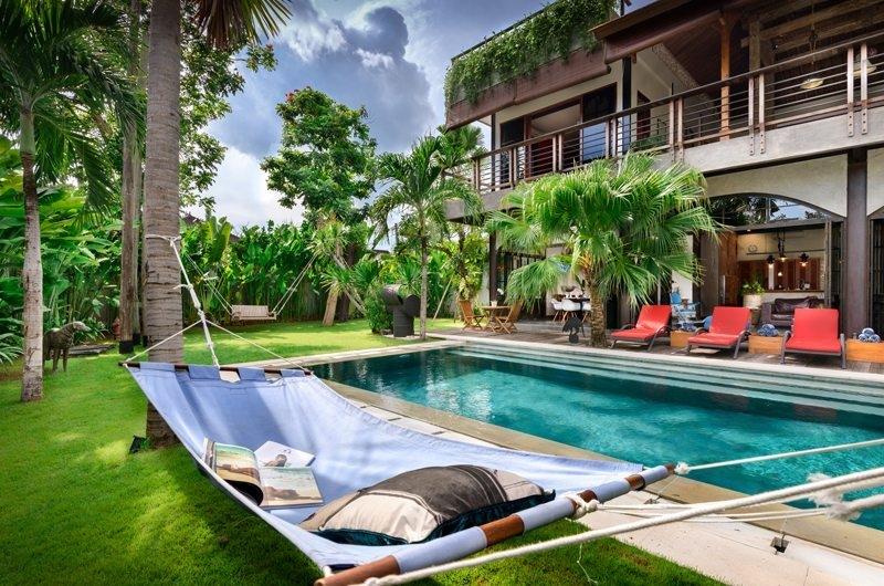 Pool Side - Niconico Mansion - Seminyak, Bali