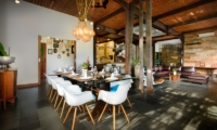 Living and Dining Area - Niconico Mansion - Seminyak, Bali