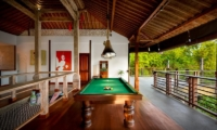 Up Stairs Billiard Table - Niconico Mansion - Seminyak, Bali