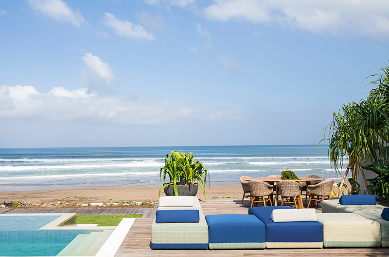 Pool Side Seating Area - Noku Beach House - Seminyak, Bali
