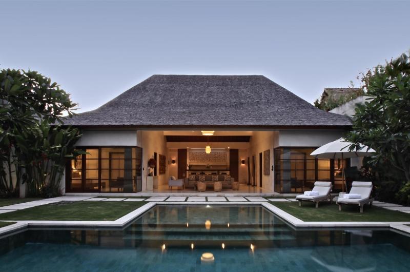 Pool Side - Nyaman Villas - Seminyak, Bali