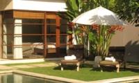 Sun Beds - Nyaman Villas - Seminyak, Bali