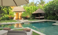 Pool Side Loungers - Nyaman Villas - Seminyak, Bali