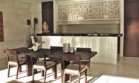 Kitchen and Dining Area - Nyaman Villas - Seminyak, Bali