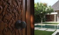 Entrance - Nyaman Villas - Seminyak, Bali