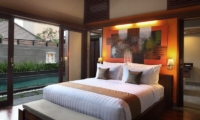 Bedroom with Lamps - Nyuh Bali Villas - Seminyak, Bali