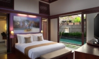 Bedroom with Pool View - Nyuh Bali Villas - Seminyak, Bali
