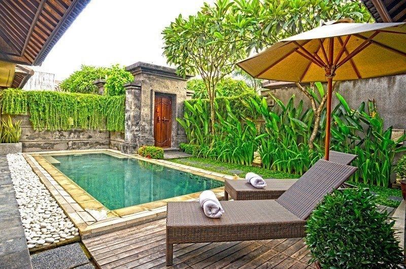 Reclining Sun Loungers - Nyuh Bali Villas - Seminyak, Bali