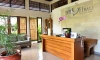 Reception Area - Nyuh Bali Villas - Seminyak, Bali