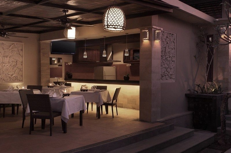 Kitchen and Dining Area - Nyuh Bali Villas - Seminyak, Bali