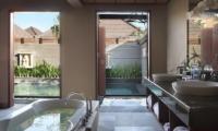 Bathroom with Bathtub - Nyuh Bali Villas - Seminyak, Bali