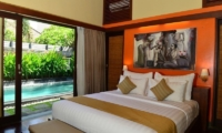 Bedroom with Seating Area - Nyuh Bali Villas - Seminyak, Bali