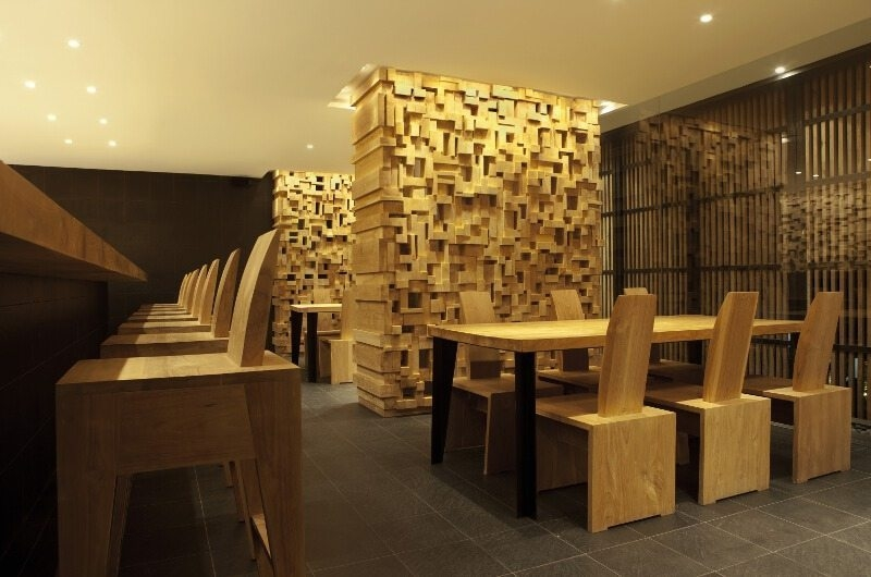 Bar Counter with Dining Area - One Eleven - Seminyak, Bali