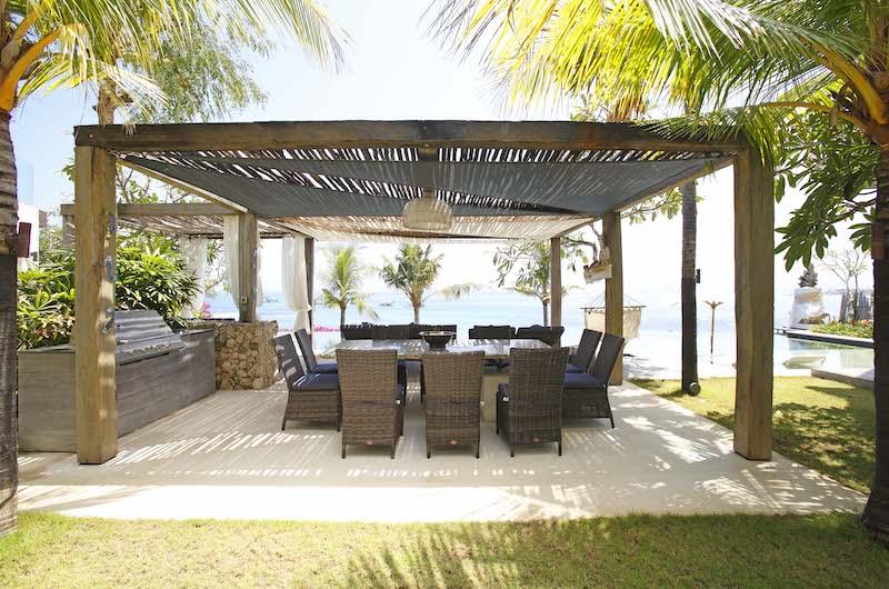 Outdoor Dining with Sea View - Opera Villa - Nusa Lembongan, Bali